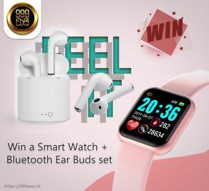 Smart Watch and Bluetooth Ear Buds